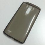 เคสนิ่มใส (หนา 0.3 mm) LG G3 สีเทา