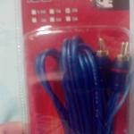 ขาย สายสัญญาณ RCA TO RCA (ขาวแดง - ขาวแดง) PREMIUM อย่างดีสำหรับต่อเครื่องเสียง ทีวี ยาว 1เมตร