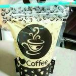 ถุงซิปใส่กาแฟขาย ลาย coffee 100 ใบ 400 บาท