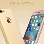 Case iPhone 7 Plus (5.5 นิ้ว) พลาสติกเคลือบเมทัลลิคแบบประกบหน้า - หลังสวยงามมากๆ ราคาถูก