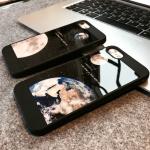 Case iPhone 7 Plus (5.5 นิ้ว) พลาสติกลายโลกและดวงจันทร์ สวยงามมากๆ ราคาถูก (ไม่รวมสายคล้อง)