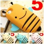 เคส iphone 5 ผึ้งอ้วนตัวกลมน่ารักๆ ซิลิโคน 3D เคสมือถือราคาถูกขายปลีกขายส่ง