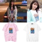 เสื้อยืด (T-Shirt) ลายเฟรนช์ฟรายส์ แบบ Eunji