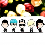 เข็มกลัด/ป้ายชื่อ BIGBANG BOY