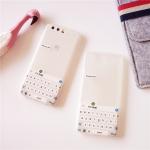 เคส Huawei P10 พลาสติก TPU สกรีนลายคีย์บอร์ดไม่ซ้ำใคร ราคาถูก