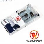 หูฟัง Wallytech WEA-081 แบบ in-ear สีดำ