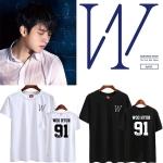 เสื้อยืด (T-Shirt) Woohyun 91 - Write (สกรีนชื่อ)