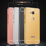 เคส Huawei GR5 ขอบเคสโลหะ Bumper + พร้อมแผ่นฝาหลังเงางามสวยจับตา ราคาถูก