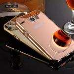 เคส Samsung Note 7 ขอบเคสโลหะ Bumper + พร้อมแผ่นฝาหลังเงางามสวยจับตา ราคาถูก