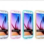 เคส Samsung Galaxy S6 ซิลิโคน TPU soft case แบบฝาพับโปร่งใสสีต่างๆ สวยงามมากๆ ราคาถูก
