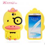 เคส Samsung Galaxy Note 2 ซิลิโคน 3 มิติ การ์ตูนช้างน้อยน่ารัก เด็กหญิงน่ารักๆ ราคาถูก