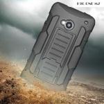 เคส HTC One M7 เคสกันกระแทก สวยๆ ดุๆ เท่ๆ แนวถึกๆ อึดๆ แนวทหาร เดินป่า ผจญภัย adventure เคสแยกประกอบ 3 ชิ้น ชั้นในเป็นยางซิลิโคนกันกระแทก ครอบด้วยแผ่นพลาสติกอีก1 ชั้น กาง-หุบขาตั้งได้ มีปลอกฝาหน้าแบบสวมสไลด์ ใช้หนีบเข็มขัดเพื่อพกพาได้