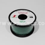 สายไฟTSL #24AWG 100FT(30m) สีเขียว