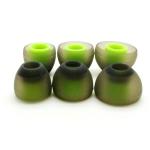 ขาย x-tips จุกหูฟัง green orange สำหรับอินเอียร์ทั่วไป ราคา 6คู่ 250 นุ่มเบาสบายหู