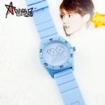 นาฬิกา EXO LOGO (กันน้ำ) สีฟ้า