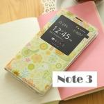 case note 3 เคส Samsung Galaxy note 3 เคสฝาพับแบบเปลี่ยนแผ่นฝาหลังเครื่อง ลายดอกไม้สวยๆ โชว์หน้าจอ ราคาส่ง ขายถูกสุดๆ