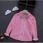 เสื้อ สีชมพู แพ็ค 5ชุด ไซส์ 5-7-9-11-13