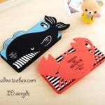 เคสไอโฟน5 case iphone 5s ซิลิโคนปูน้อย ปลาวาฬน้อย สุดน่ารัก