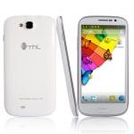 (เลิกผลิต)THL W8s สีขาว สมาร์ทโฟน จอใหญ่ 5.0 นิ้ว FHD IPS แรม 2G