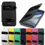Flip Cover Case S View Galaxy Mega 5.8""