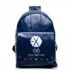 กระเป๋าสะพายหลัง EXO 2014 สีน้ำเงิน