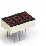 3 digit 7 segment red LED numeric
