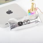 กระเป๋าดืนสอ EXO สีเงิน