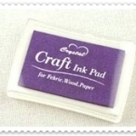 Crystal Craft Ink Pad (สีม่วง)