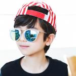 แว่นตา (UV400) เลนส์สีฟ้า แพ็ค 5อัน ฟรีไซส์