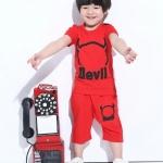 ชุดเซต Devil สีแดง [size 1y-2y-3y-4y-5y]