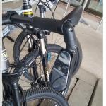 กระจกมองหลัง จักรยาน ROCES L-1 มีไฟ LED