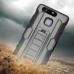 เคส Huawei P9 กันกระแทก แนวลุยๆ ดุๆ เท่ๆ ถึกๆ อึดๆ แนวทหาร เดินป่า ผจญภัย adventure เคสแยกประกอบ 3 ชิ้น ชั้นในเป็นยางซิลิโคนกันกระแทก ครอบด้วยแผ่นพลาสติกอีก1 ชั้น กาง-หุบขาตั้งได้ มีปลอกฝาหน้าแบบสวมสไลด์ ใช้หนีบเข็มขัดเพื่อพกพาได้