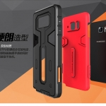 เคส Samsung Note 5 เคสแบบประกบ 2 ชั้น TPU สีดำด้านใน ด้านนอกพลาสติก อึด ทน ราคาถูก