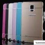 เคสซัมซุงโน๊ต4 Case Samsung Galaxy note 4 แบบประกอบ 2 ชิ้น ขอบเคสโลหะ Bumper + พร้อมแผ่นฝาหลัง PC สวยมากๆ ราคาส่ง ขายถูกสุดๆ
