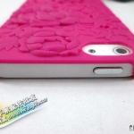 case iphone 5 เคสไอโฟน5 ลายดอกไม้ฉลุลายนูนๆ สีหวาน ใส่แล้วสวยดี มีหลายสีให้เลือก