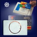 บัตรทาบ บัตรมายแฟร์การ์ด 1 K. บัตรพลาสติกสีขาว