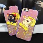 เคส iPhone 6s Plus / 6 Plus (5.5 นิ้ว) พลาสติก + TPU ลายเซเอลร์มูน แสนน่ารัก ราคาถูก