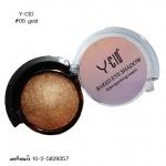 Y-Cid eye shadow 05 สีทอง