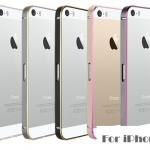 เคส iphone 4s เคสไอโฟน4 Bumper ขอบเคสแบบบาง มีลายเส้นตัดขอบ สวยมากๆ