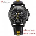 นาฬิกาข้อมือชายแฟชั่น Shank Sport watch SH184-SH186