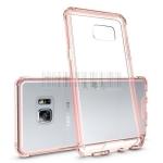 เคส Samsung Note 7 พลาสติกใส + ขอบเคสสีพาสเทลสวยมากๆ ราคาถูก
