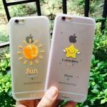 เคส iPhone 6s / iPhone 6 (4.7 นิ้ว) พลาสติกผิวกันลื่นลายน่ารัก ราคาถูก