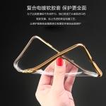 Case Samsung J3 ซิลิโคน TPU โปร่งใสขอบเงางาม ราคาถูก