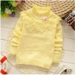 เสื้อ สีเหลือง แพ็ค 4ชุด ไซส์ 4-6-8-10