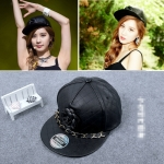หมวกหนัง PU แบบ Seohyun