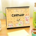 2015 Piggy Desk Calendar