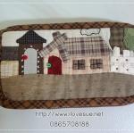 กระเป๋าสตางค์ใบยาว ผ้าทอญี่ปุ่น - สั่งทำนะคะ