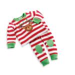 เสื้อ+กางเกง คริสต์มาส 16312 สีแดง แพ็ค 5 ชุด ไซส์ 80-90-100-110-120 (เลือกไซส์ได้)