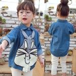 เสื้อลายกระต่าย [size: 2y-3y-4y-5y-6y]