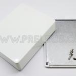 กล่องอลูมิเนียม 1590BB สีขาว
